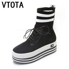 popular knitted ankle boots buy cheap knitted ankle boots lots