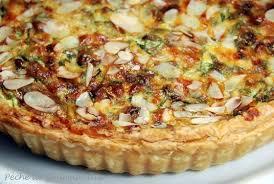tarte aux épinards et gorgonzola péché de gourmandise