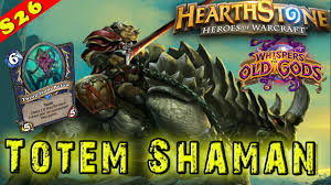 hearthstone bloodlust totem shaman deck decklist constructed