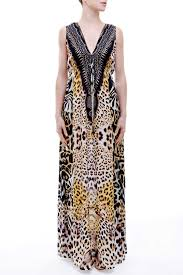 leopard print dresses designer animal print dress shahida