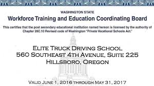 100 Truck Driving Schools In Washington Driver Certification YouTube