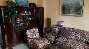 wohnzimmer 40er 50er jahre garnitur schrank tisch 4 stühle