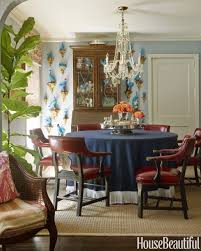 Ethan Allen Pineapple Dining Room Chairs by Colorful Texas Cottage Mackay Boynton Interior Design