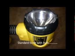 dewalt 18v snakelight torch led bulb mod