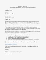 Software Developer Cover Letter And Resume Example