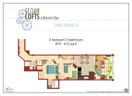 Bathroom Floor Plans With Washer And Dryer by Delco St Clair Lofts