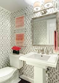 Powder room with pedestal sink decorating ideas powder room