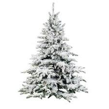 Pre Lit Flocked Christmas Tree by Artificial Christmas Tree Sale 65u0027 Heavily Flocked Pine