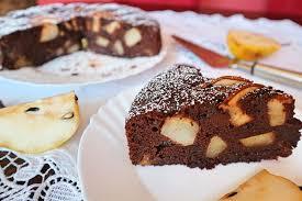 schoko birnenkuchen saftiger rezept mit birnen schokostückchen