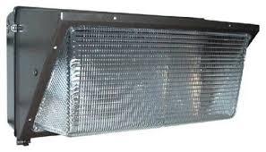 400 watt metal halide wall pack flood light fixture exterior