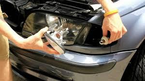 bmw e46 clear parking lenses install tutorial