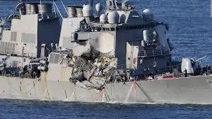 Uss America Sinking Photos by Us Navy Destroyer Fitzgerald Missing Sailors Found Dead Cnn