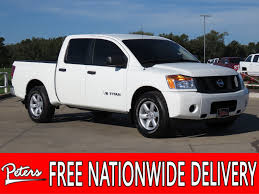 100 Used Nissan Titan Trucks For Sale PreOwned 2015 S Crew Cab In Longview 8301PA Peters