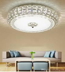 großhandel moderne silber gold deckenleuchte kristall 3 farben weiß warmweiß led runde wohnzimmer led licht kristall wandleuchte deckenleuchte