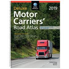 100 Rand Mcnally Truck Gps McNally Deluxe Motor Carriers Road Atlas