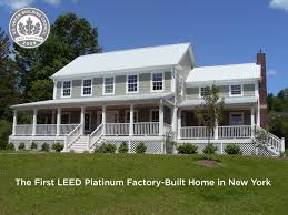 The First USGBC LEED Platinum Factory Built Home In New York State Now For Sale