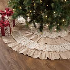 Festive Holiday Christmas Tree Skirts 12 Designs
