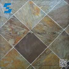 customized various of cheap slate flooring tiles and smooth slate
