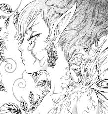 Detail Printable 2014 Coloring Pages For Teenagers Difficult Fairy