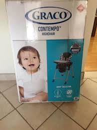 Graco Contempo High Chair Stars by Graco Contempo High Chair Walmart Com