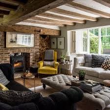 Southern Living Family Rooms by Charming Country Living Room Pictures Ideal Home At Images Of