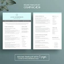 Creative Resume Examples 2015 Together With Modern 2 Page Template Cover Letter And Reference