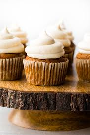 Libbys Canned Pumpkin Uk by Pumpkin Cupcakes With Cream Cheese Frosting Sallys Baking Addiction