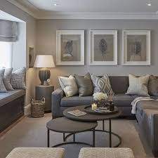 Living Room Neutral Living Rooms Contemporary Room Decorating
