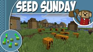 Minecraft Pumpkin Seeds Pe by Minecraft Seed Sunday Mc1 8 8 Ep152 Halloween Pumpkin Patch