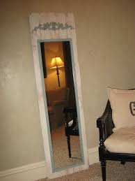 Upcycle A Simple Fulllength Mirror For The Home Diy Mirror