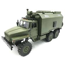 100 Rock Crawler Rc Trucks WPL B36 Ural RC Car Military Truck Army Green