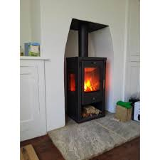modern multi fuel stoves tulin contemporary woodburning stove 7 8kw