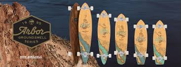 Pintail Longboard Deck Template by Skateboards Arbor Collective