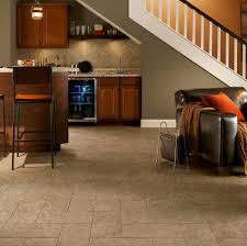 Laying Tile Over Linoleum Concrete by Basement Flooring Guide Armstrong Flooring Residential