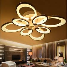 2018 dimmable led ceiling lights butterfly chandeliers flush mount