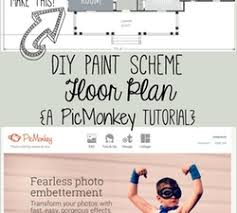 Efficiency Floor Plans Colors Create A Paint Scheme Floor Plan Picmonkey Tutorial Its Easy To