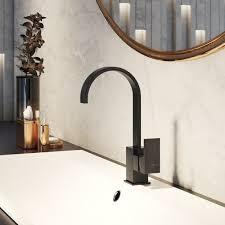 steinberg waschtischarmatur m ablaufgarnitur schwarz matt 1351501s 135 1501s