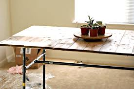 simple kitchen table centerpiece ideas solid wood frame and legs