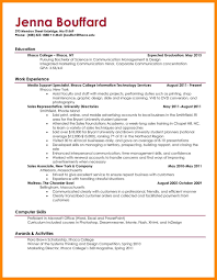 Resumes For College Students Fascinating Sample Resume Student Doctors Signature How To Write A Make
