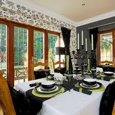 Dining Room Wallpaper Ideas Ideal Home Intended For Property