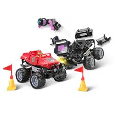 100 Monster Trucks Crashing The Crash And Rebuild Hammacher Schlemmer