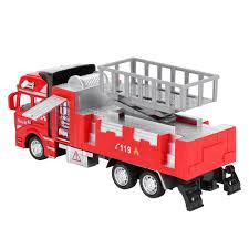 100 Fire Trucks Toys Details About 148 Diecast Aerial Truck Construction Vehicle Cars Model Gifts