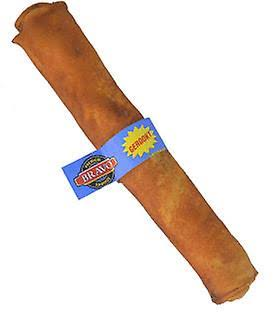 The Rawhide Express Peanut Butter Retriever Roll Dog Chew