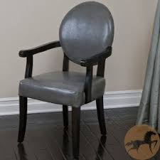 Leather Dining Room Chairs With Arms 6