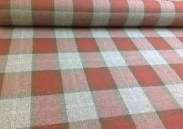 Fabrics For Curtains Uk by Red Multicolour Tartan Check Pure Wool Fabric For Upholstery