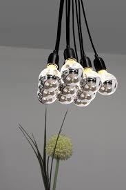 half chrome light bulb lighting design ideas