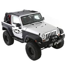 Smittybilt Cloak Extended Mesh Top Jeep Wrangler JK 2 Door