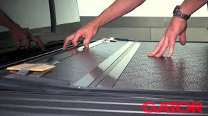 how to install gator fx hard folding tonneau cover at autocustoms