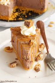 easy no bake dessert recipes easy no bake snickers cheesecake the busy baker