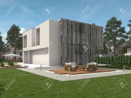 100 Modern Two Storey House Exterior View Of A Modern Two Storey House With Large View Windows